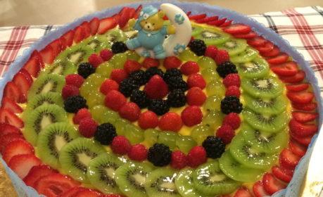 torta battesimo Federico